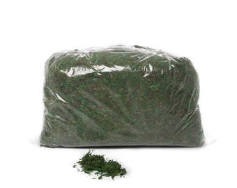 Moss Mat Artificial Fake Grass Preserved Moss Bag Green 500 grams