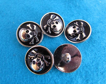Skull and crossbone Buttons