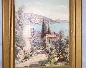 Mediterranean Scenery Print