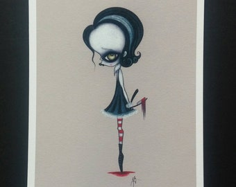 Sweeney Todd- Limited edition Fine art giclee print