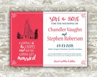The Chandler Save the Date