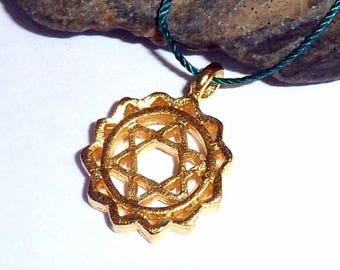 Heart Chakra Vermeil Necklace earthegy #2290