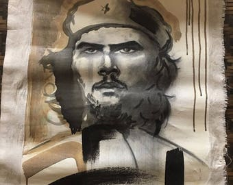 Hand painted Oil Painting on Canvas CHE GUEVARA Pop Art Painting from CUBA
