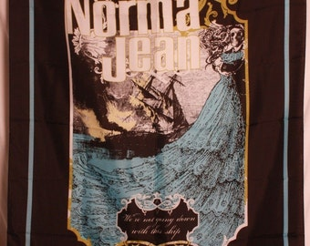 Norma Jean Ship Official Cloth Textile Fabric Poster Flag Tapestry Wall Banner FREE SHIPPING-Cory Brandan Putman-New!
