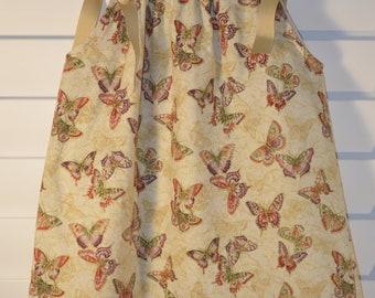 Golden Butterflies Pillow Case Dress