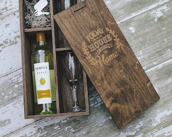 Wine and Photo Boxes