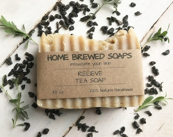 Vegan Soap, Homemade Soap, Artisan Soap, Palm Oil Free Soap, All Natural Soap, Natural Bar Soap, Handmade Soap Bar, Palm Free Soap, Tea Soap