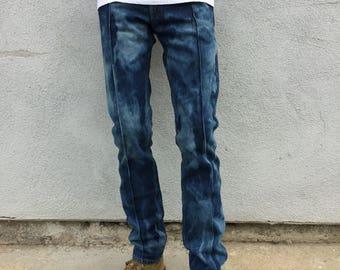 Vintage 1960 Rare Deadstock Levi's Jeans Orange Tab 606 Slim Fit Pinto Wash