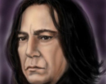 Severus Snape signed ACEO