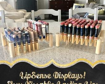 LipSense Display compatible Arcylic Lip Gloss Cosmetic Holder / Lip Gloss Organizer