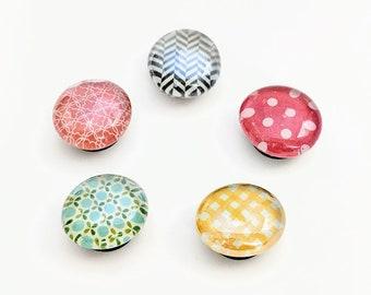 Pretty Patterns Magnet Set