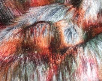 Luxury Super Soft - Autumn  60mm Pile Faux Fur