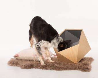 Dog Toy Box - City Grey