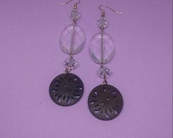 Crystal Earrings, Shoulder Duster Earrings, Long Earrings, Fashion Jewelry *Free Shipping & Handling!