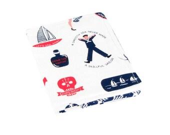 Womans Wallet, Slim Wallet, Travel Wallet, Cute Wallet, Credit Card Holder, Credit Card Wallet, Wallets For Women, Nautical Wallet