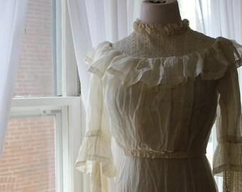 SALE! Enchanting Edwardian dress