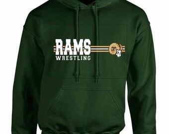 Rams Wrestling - Sweatshirt