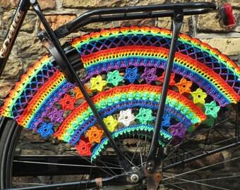 Color Burst; Crochet Skirt Guards Made-to-Order