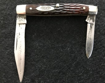 Case vintage pen knife 6233 jigged bone