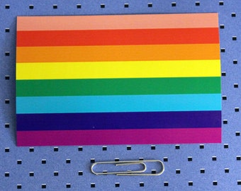 Gay Pride Rainbow Flag Sticker