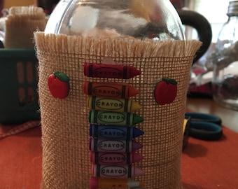 School Days Vase