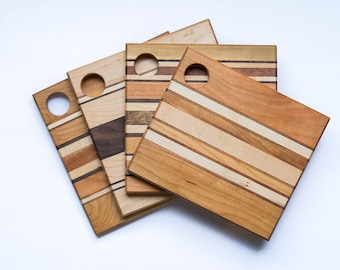 Small Cheese Board 9X9 - 17 styles!