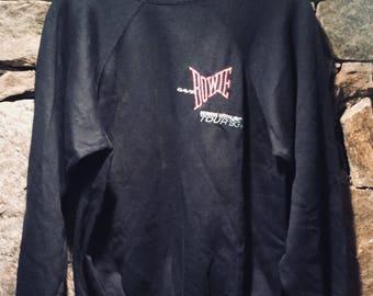 David Bowie Vintage Sweatshirt