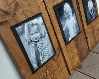 Picture Frame Set - Rustic Frame - Picture Frame - Rustic Home Decor - Farmhouse Decor - Rustic Picture Frame Set - 4x6 Picture Frame