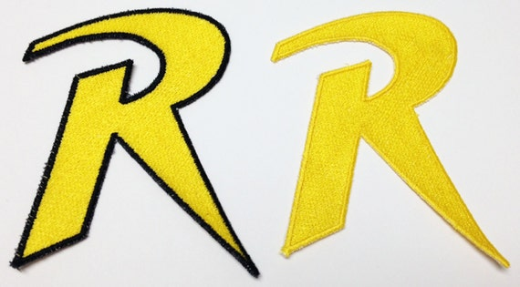 Robin R Logo Patch