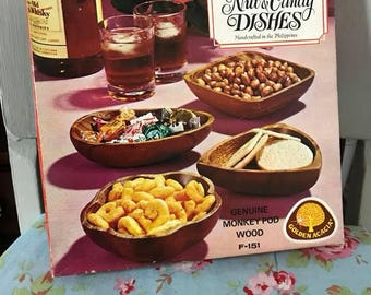 Vintage Nut Dishes