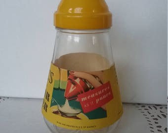 Retro Metered Sugar Jar, Sugar Dispenser, Retro Kitchen, Sugar Shaker