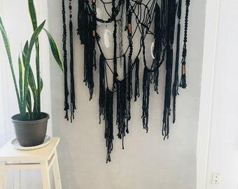 Ghost Ranch: Macrame Woven Wall Hanging