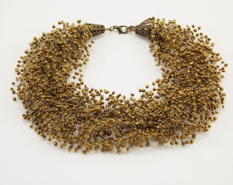 New mom gift Bronze necklace antique bronze jewelry bronze anniversary artisan jewelry mother necklace country jewelry everyday necklace