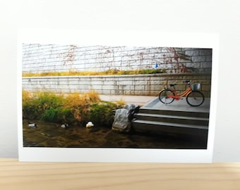 Bike by the Stream-Print of Original Landscape/Travel Photo