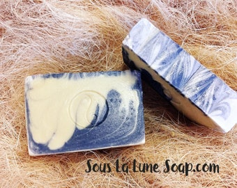 Sun dried cotton Handmade soap bar