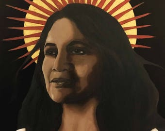 Dolores Huerta icon print