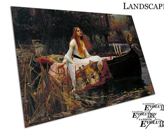 John William Waterhouse The Lady of Shalott Poster Print X1612