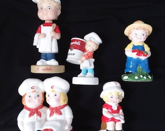 Assorted Campbell's Soup collectibles