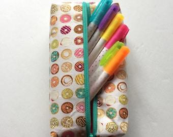 Donut pencil pouch
