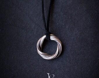 Alvar Pendant - Elven necklace-  Art Nouveau pendant - Elven Pendant