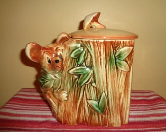 Cute Vintage McCoy Koala Bear Cookie Jar USA