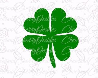 St Patricks SVG - St Patricks day Svg, Shamrock SVG cut file, SVG, dxf, Cutting Files, Silhouette, Cricut, Clipart, Clover, lucky svg, heart