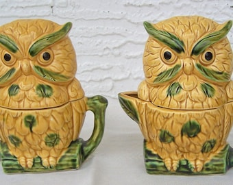 Royal Sealey Owl Condment Set