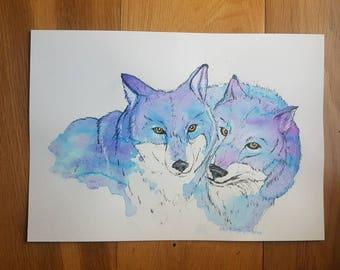Ink wolves