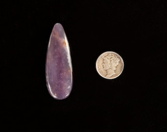 Amethyst Sage Agate Cabochon from Oregon