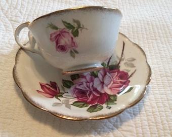 Vintage Royal Standard orleans rose cup and saucer