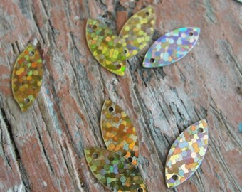 Vintage Iridescent Glitter Sequins 500pc