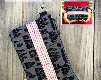 Clutch pattern, Gather Me Up Clutch, gathered clutch pattern, clutch bag pattern, clutch purse pattern, clutch PDF, purse PDF