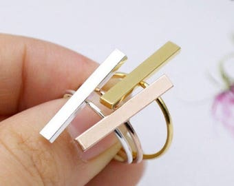 Bar Stackable Rings