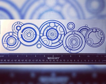Gallifreyan Vinyl Decal